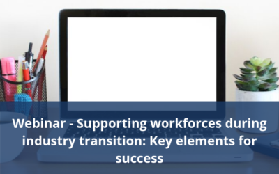 Jobs QLD Webinar – Supporting workforces during industry transition