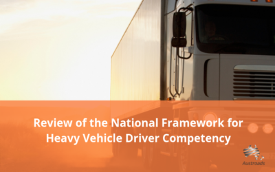 Update on the review of the National Framework for Heavy Vehicle Driver Competency