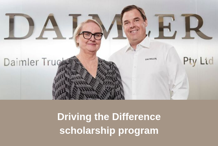 Transport Women Australia Ltd and Daimler Truck & Bus announce scholarship program