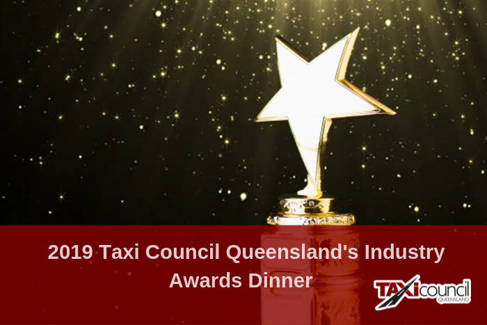 2019 Taxi Council Queensland Industry Awards Dinner