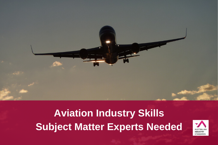 AVI Industry Skills - Subject Matter Experts needed