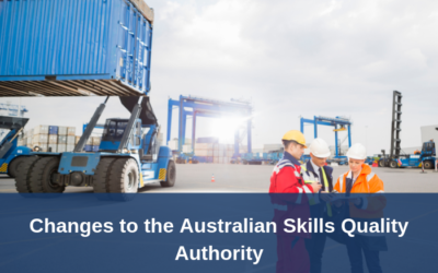 Ministers announce changes to the Australian Skills Quality Authority