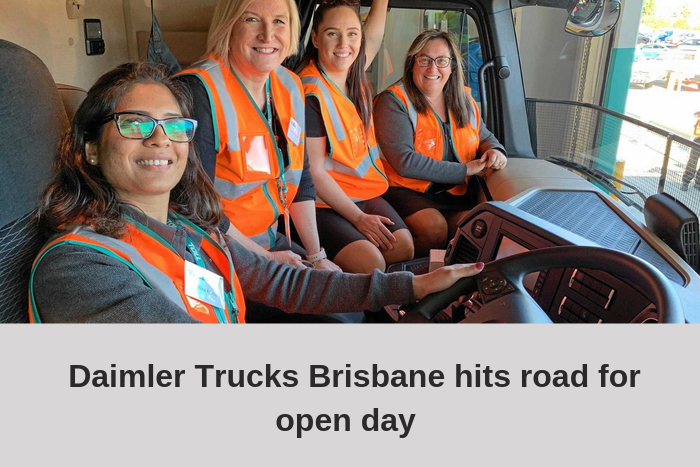 Daimler Trucks Brisbane showcasing changes in truck development