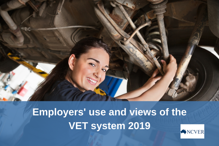 Employers' use and views of the VET system 2019