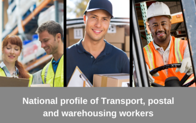 National profile of Transport, Postal and Warehousing workers in 2016 released