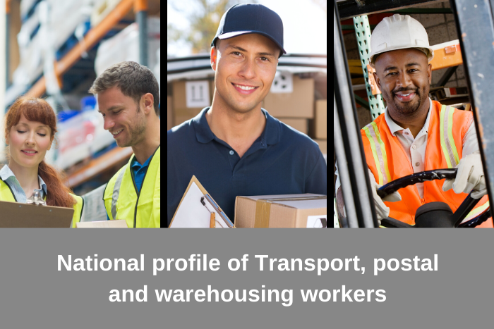 National profile of transport, postal and warehousing workers 2016
