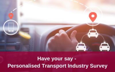 Have your say in the Personalised Transport Industry Survey