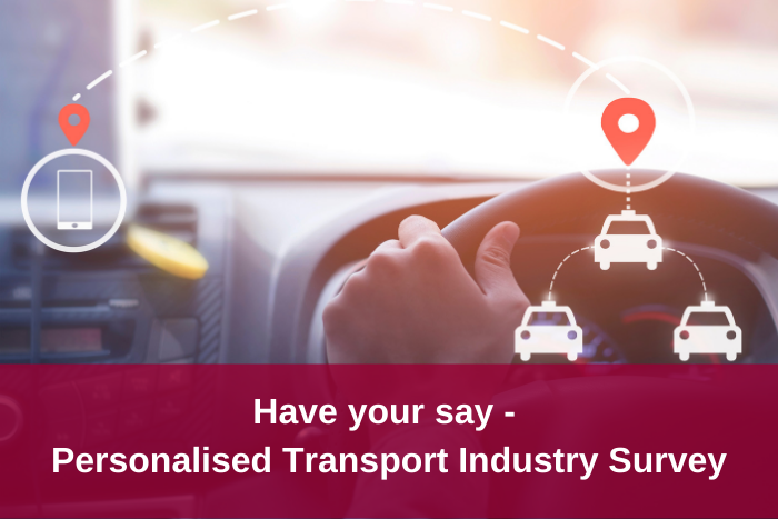 Personalised Transport Sector Survey