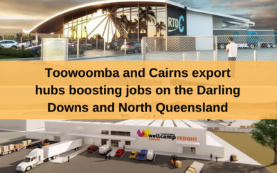 Toowoomba and Cairns to gain Regional Trade Distribution Centre