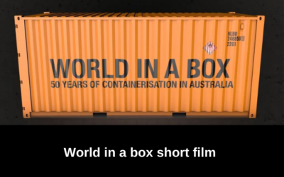World in a Box – Celebrating International Container Services in Australia