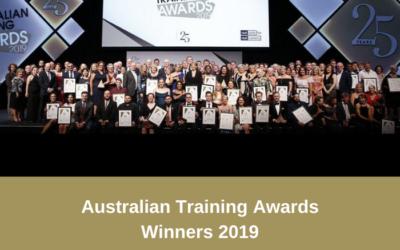 Australian Training Awards – Winners and Finalists 2019