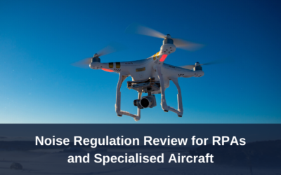 Noise Regulation Review for Remotely Piloted Aircraft (RPA) and Specialised Aircraft