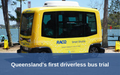 Queensland's first road trial of autonomous vehicle technology