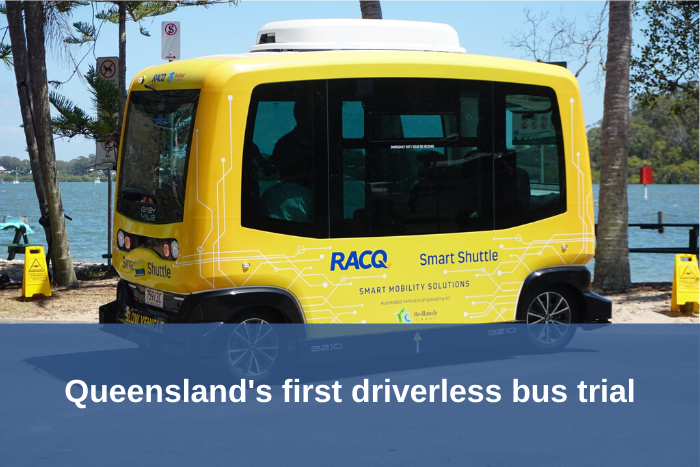 Qld driverless bus trial