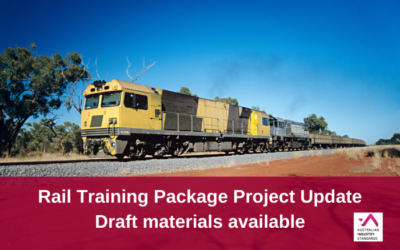 TLI Rail Training Package Updates – Draft materials available for comment
