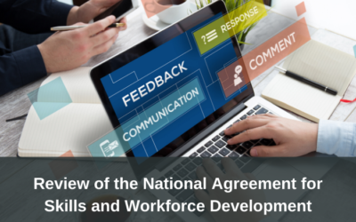 Review of the National Agreement for Skills and Workforce Development