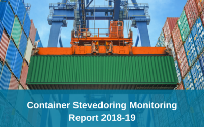 ACCC release Container Stevedoring Monitoring Report 2018-19