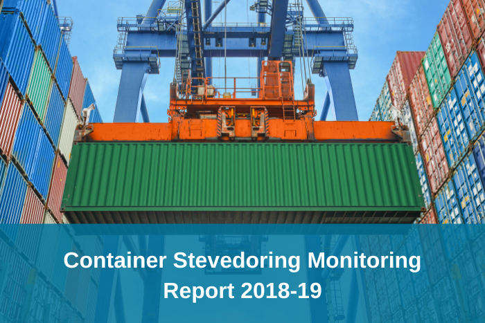 Container Stevedoring Monitoring Report