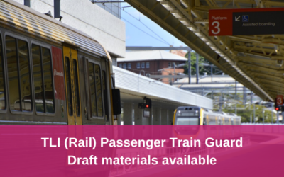 TLI (Rail) Passenger Train Guard – Feedback requested