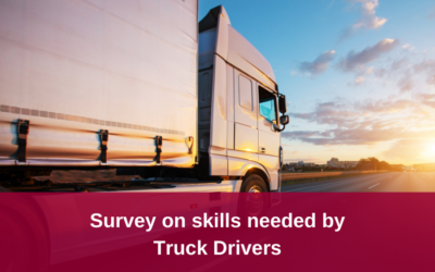 Government survey on skills for Truck Drivers