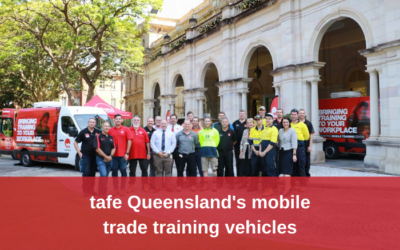 tafe Queensland's mobile trade training vehicles