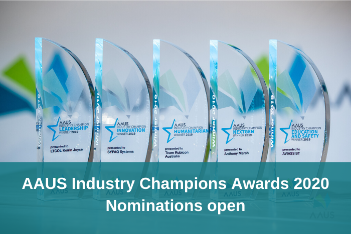 AAUS Industry Champions Awards