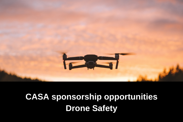 CASA sponsorship opportunities - Drone Safety