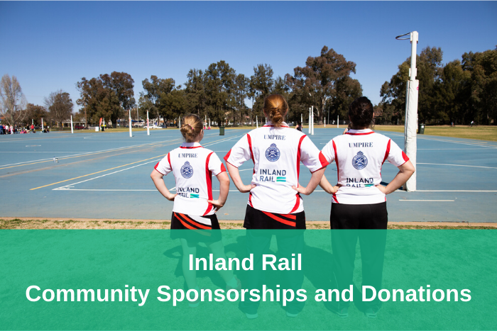 Inland Rail Community Sponsorship