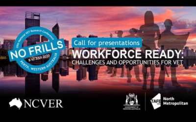 NCVER Conference 2020 – Call for presentations