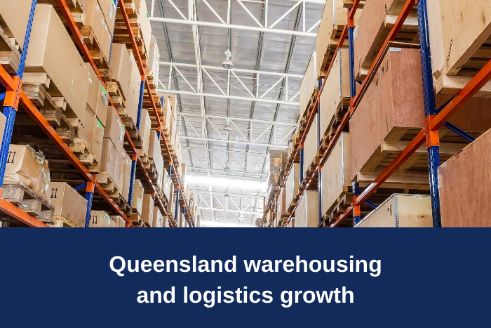 QLD Growth in warehousing and logistics