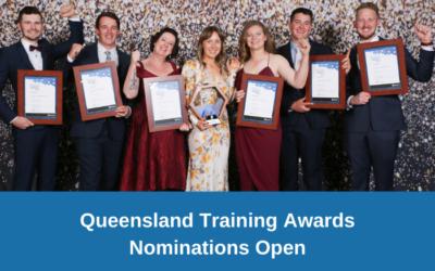 Queensland Training Awards – Nominations now open