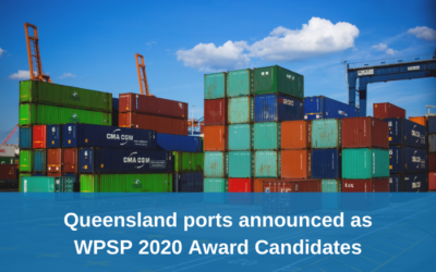 Queensland ports announced as candidates for the World Ports Sustainability Program 2020 Awards