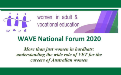 Women in Adult & Vocational Education Forum 2020