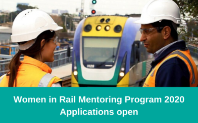 Women in Rail Mentoring Program 2020 – Applications now open