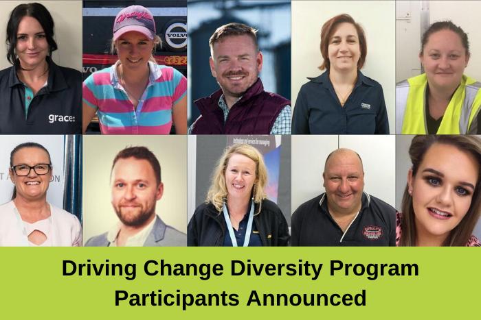 Driving Change Diversity Program Participants Announced