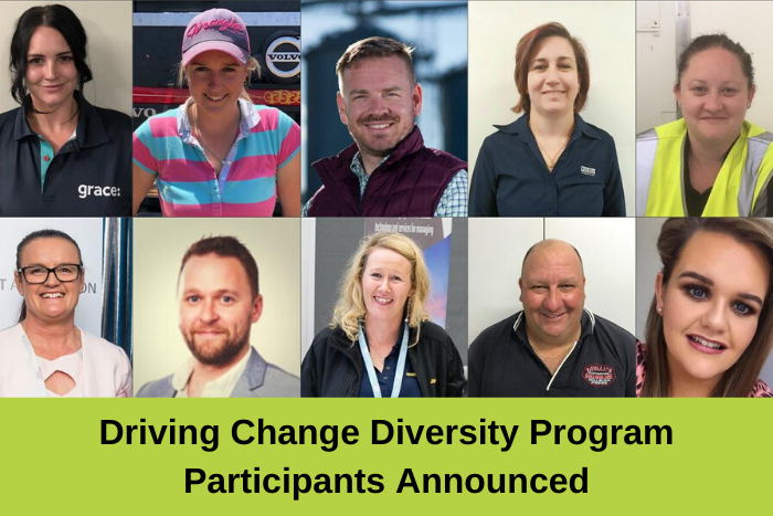 Participants announced for the 2020 Driving Change Diversity Program