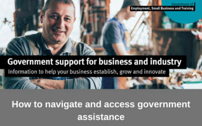 Workshop to help businesses and industry navigate government assistance
