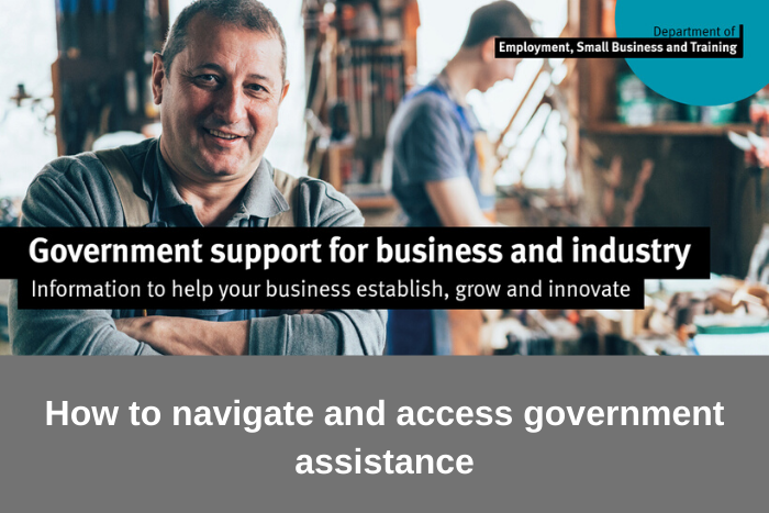 Govt Support for business and industry