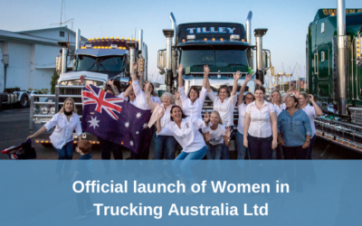 Launch of Women in Trucking Australia Ltd