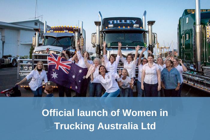 Launch of Women in Trucking Australia