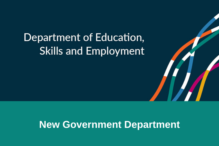 New Govt Department - DESE