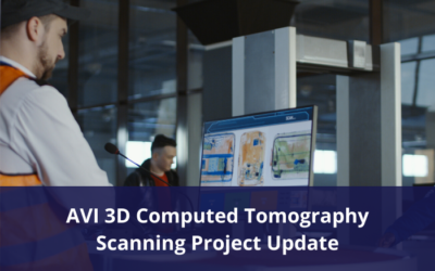 Aviation 3D Computed Tomography Scanning Project Update – Final draft materials available