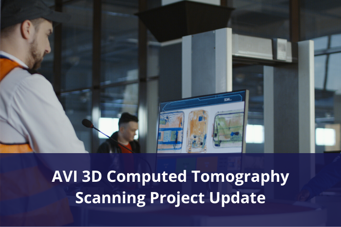 AVI - 3D Computed Tomography Scanning Project Update