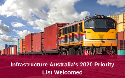Infrastructure Australia release 2020 Priority List