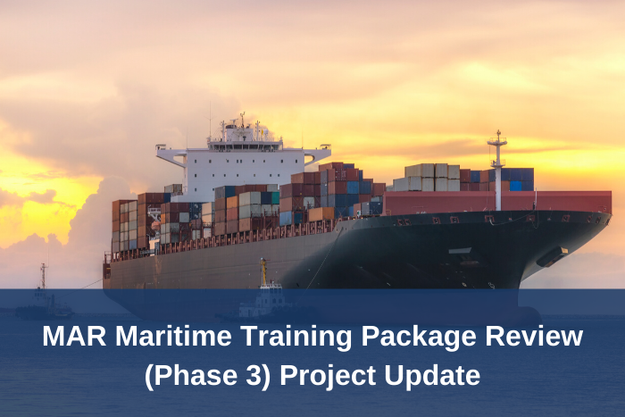MAR Training Package Review Phase 3