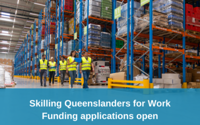 Skilling Queenslanders for Work – Funding announced, new funding applications open