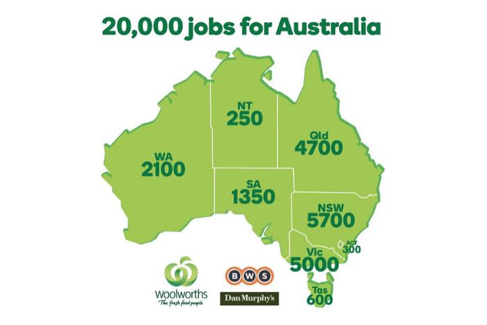 Woolworths vacancies
