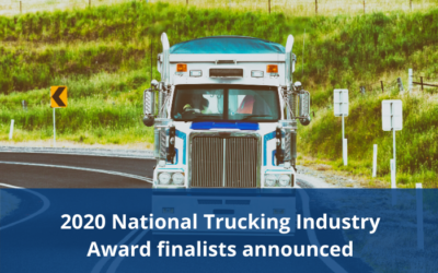 2020 National Trucking Industry Award finalists announced