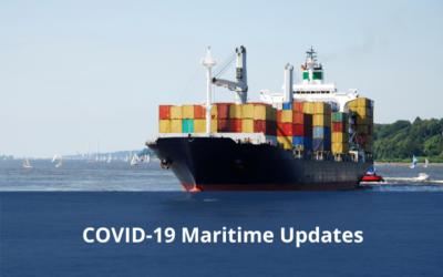 COVID-19 Maritime Updates