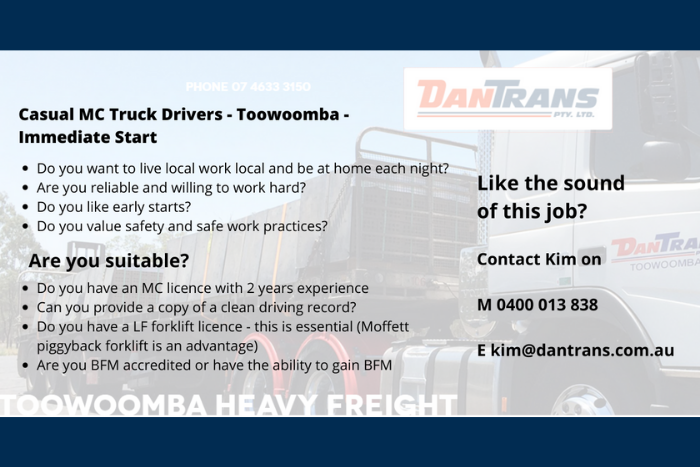 DanTrans - MC Truck Drivers